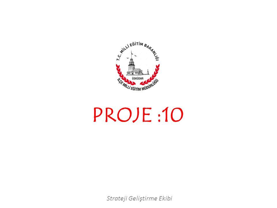 Strateji Geliştirme Ekibi PROJE :10