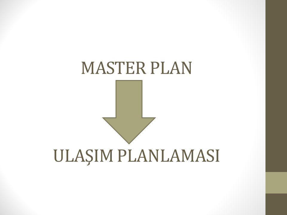 MASTER PLAN ULAŞIM PLANLAMASI