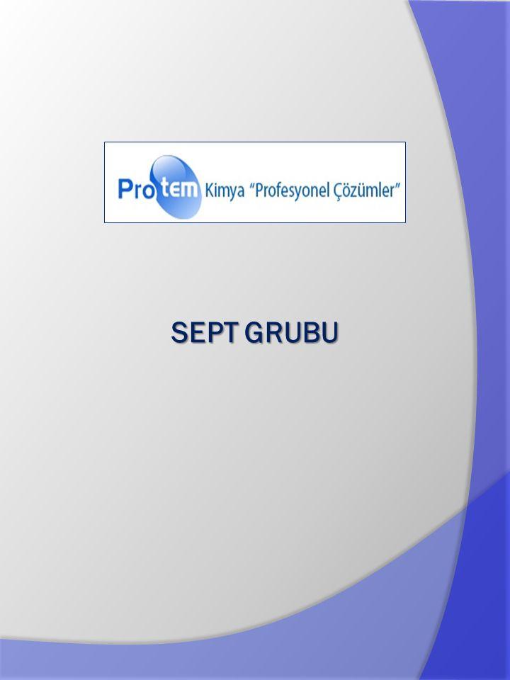 Ürün özelikle gıda sanayi için geliştirilmiş olup el dezenfeksiyonu için ideal bir üründür.
