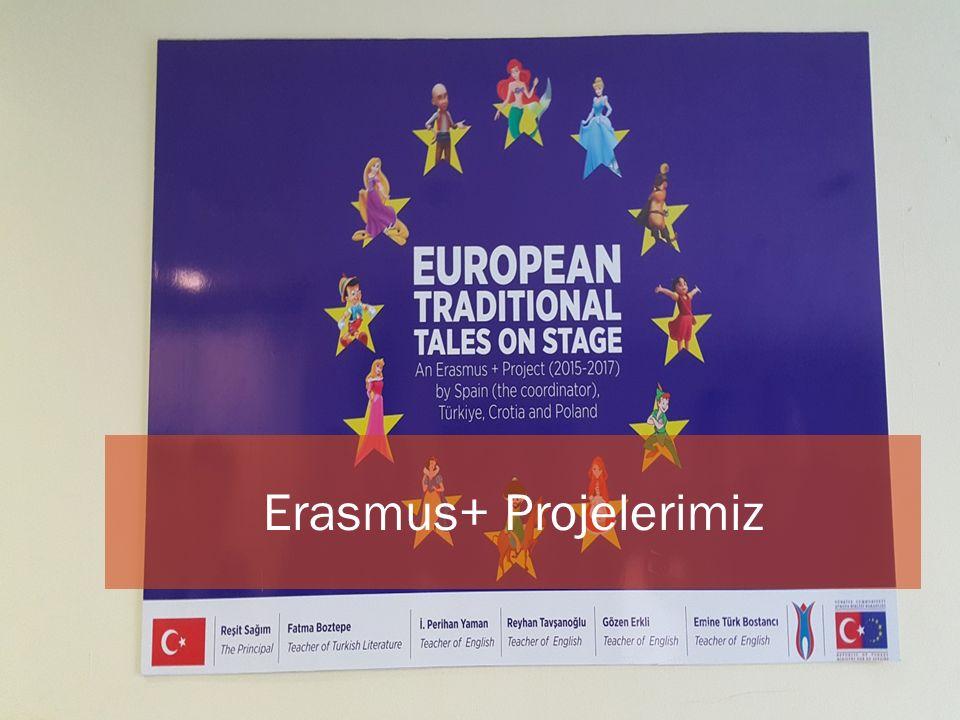Okulumuzun Erasmus + Projesi kapsamında yapılan iki ba ş vurusu kabul edilmi ş tir.