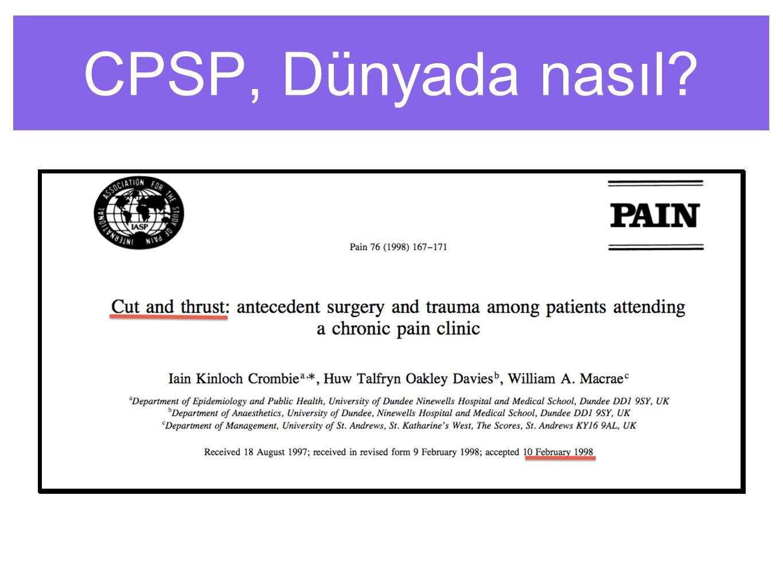 CPSP, Dünyada nasıl?