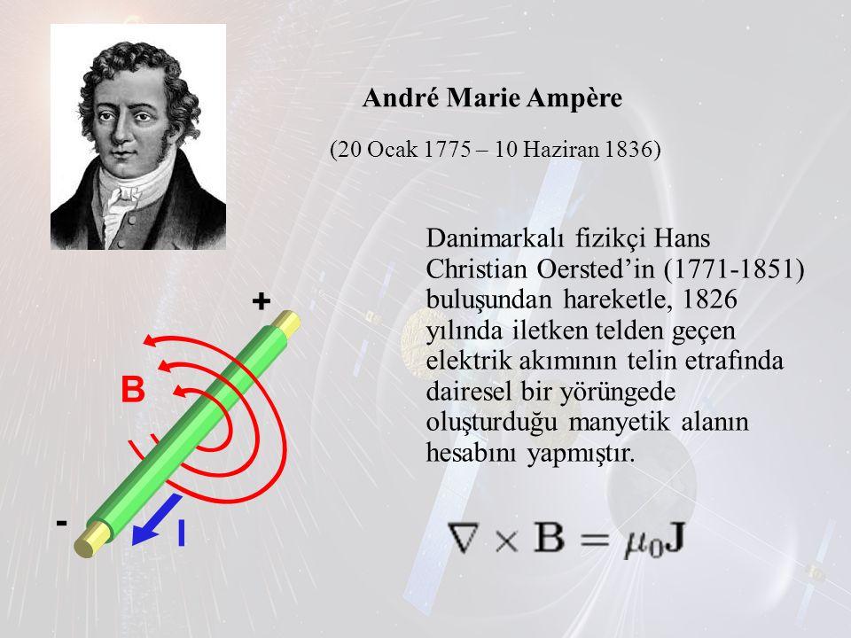 André Marie Ampère (20 Ocak 1775 – 10 Haziran 1836) Danimarkalı fizikçi Hans Christian Oersted'in (1771-1851) buluşundan hareketle, 1826 yılında iletk