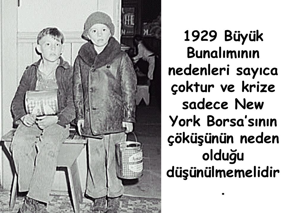 3. DALGA 1929 BUNALIMI İLE SON BULMUŞTUR.
