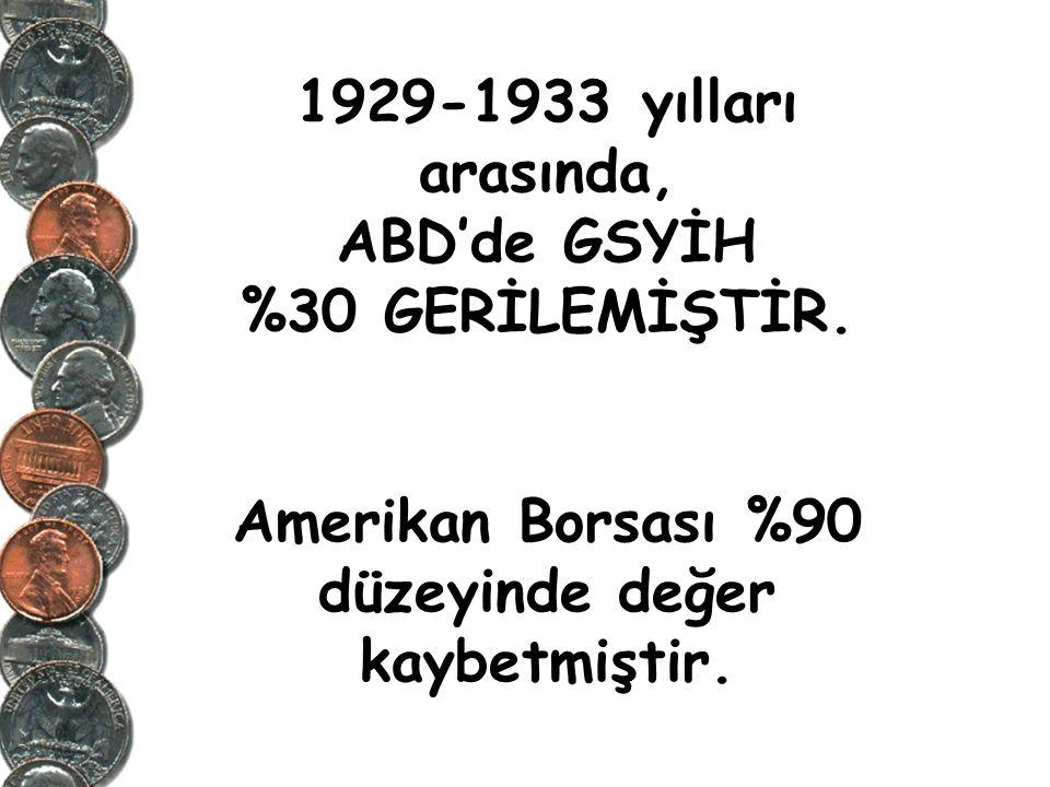 1929 Büyük Bunalım'ı ne ilk krizdi ne de son olacak.
