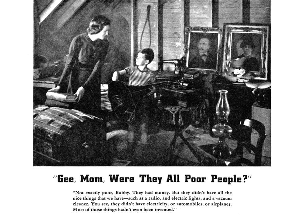1-AŞIRI ÜRETİM DÜZEYİ Pekçok elektrikli aletin icatı, buluşlar birbirini izlemiş ve üretilenler tüketime sunulmuştu. 1913'te Ford ile başlayan seri ot
