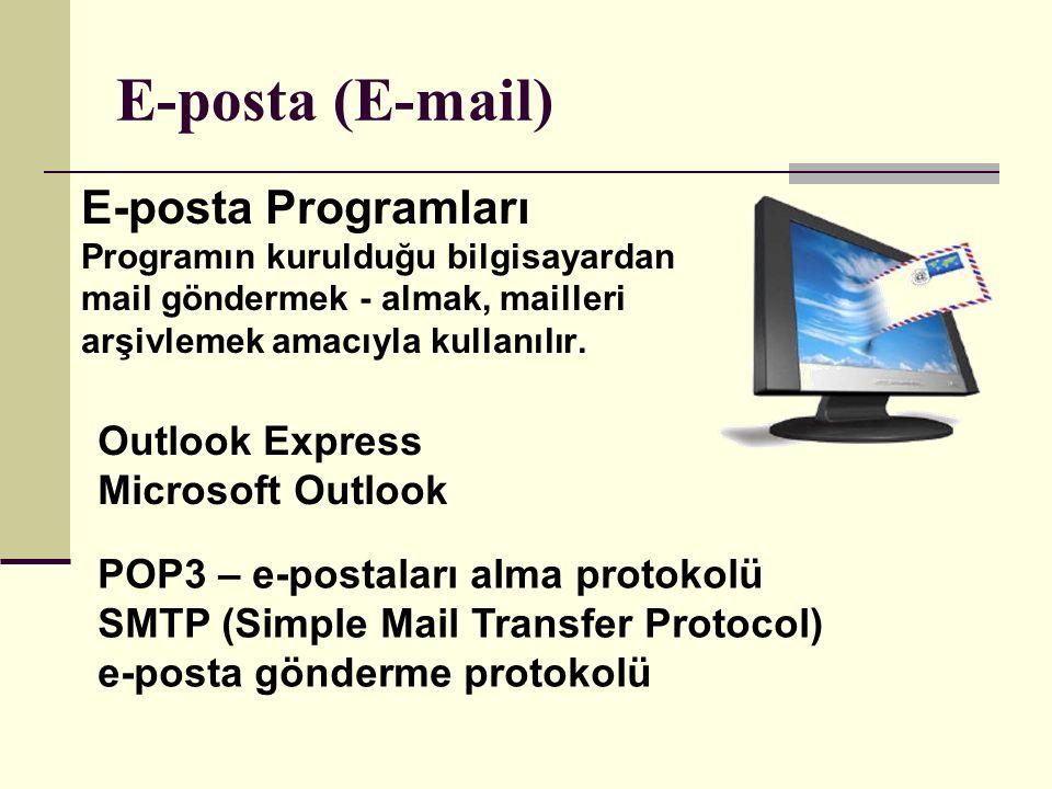 Hotmail için Outlook Express POP3 Ayarları: AlanDeğer Gelen POP sunucusupop3.live.com Gelen POP posta bağlantı noktası 995 POP SSL gerekliEvet Kullanıcı adı Windows Live ID değeriniz ( ö rneğin: ö rnek555@hotmail.com) Parola Hotmail oturumu a ç mak i ç in kullandığınız parola Giden SMTP sunucususmtp.live.com Giden SMTP posta bağlantı noktası 25 (G ö nderimde hata varsa 587 deneyin) Kimlik doğrulaması gerekli Evet (Windows Live ID ve parolanız) TLS/SSL gerekliEvet (varsa TLS yi, yoksa SSL yi se ç in) E-posta (E-mail)