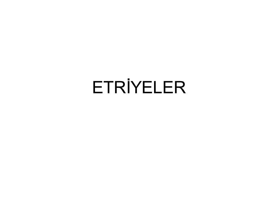 ETRİYELER