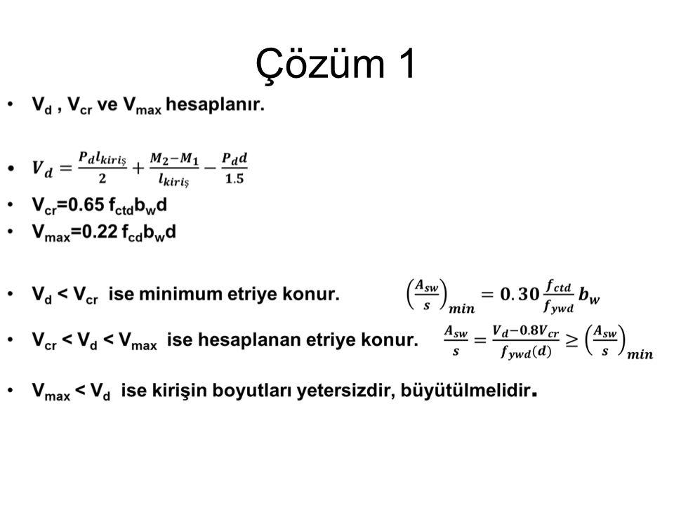 Çözüm 1