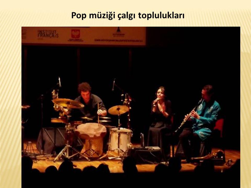 Pop müziği çalgı toplulukları