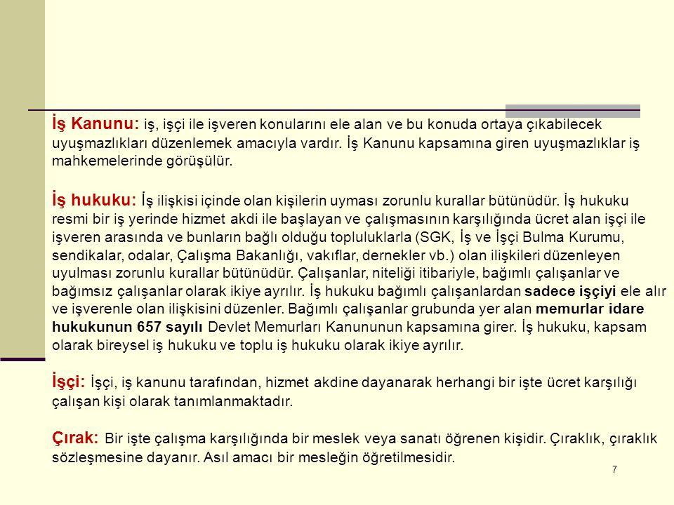18 SGK'nın 1998-2009 yıllarını kapsayan istatistiklere göre; Türkiye'de;  920727 iş kazası yaşandı.