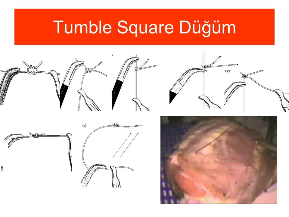 Tumble Square Düğüm