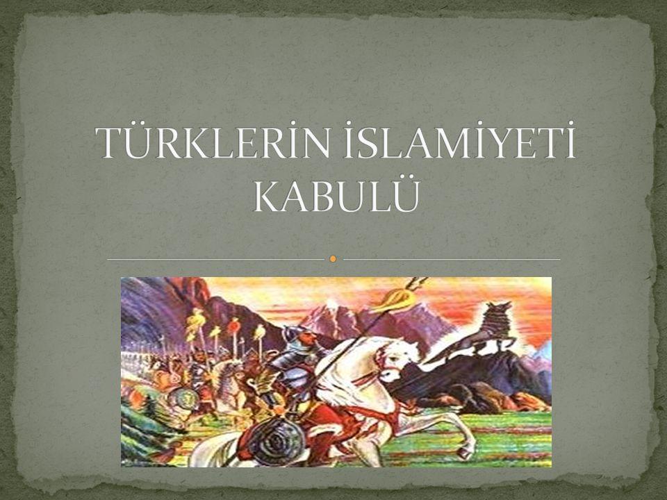 İslamiyet ortaya çıktığında Kök Türk devleti yıkılmış, bu devletin yerine Türkistan (orta asya)'da pek çok Türk devleti kurulmuştu.