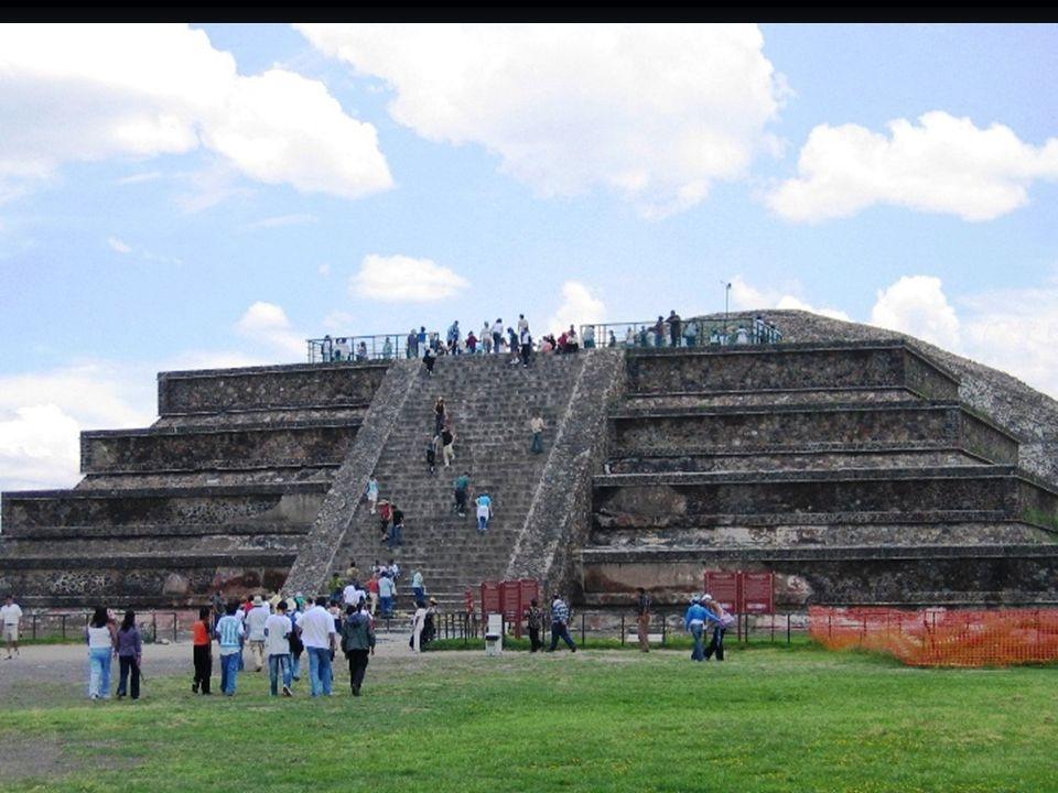 Teotihuacan 特奥蒂瓦坎 Güneş Piramidi Sun Temple 太阳庙