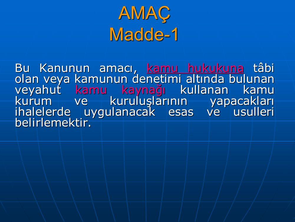 Bütün Tekliflerin reddedilmesi ve ihalenin iptali Madde-39 İhale komisyonu kararı üzerine idare, verilmiş olan bütün teklifleri reddederek ihaleyi iptal etmekte serbesttir.