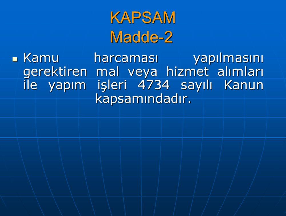 İHALE DÖKÜMANINDA DEĞİŞİKLİK YAPILMASI Madde-29 - İlân yapıldıktan sonra ihale dokümanında değişiklik yapılmaması esastır.