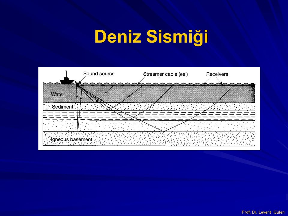 Prof. Dr. Levent Gülen Deniz Sismiği