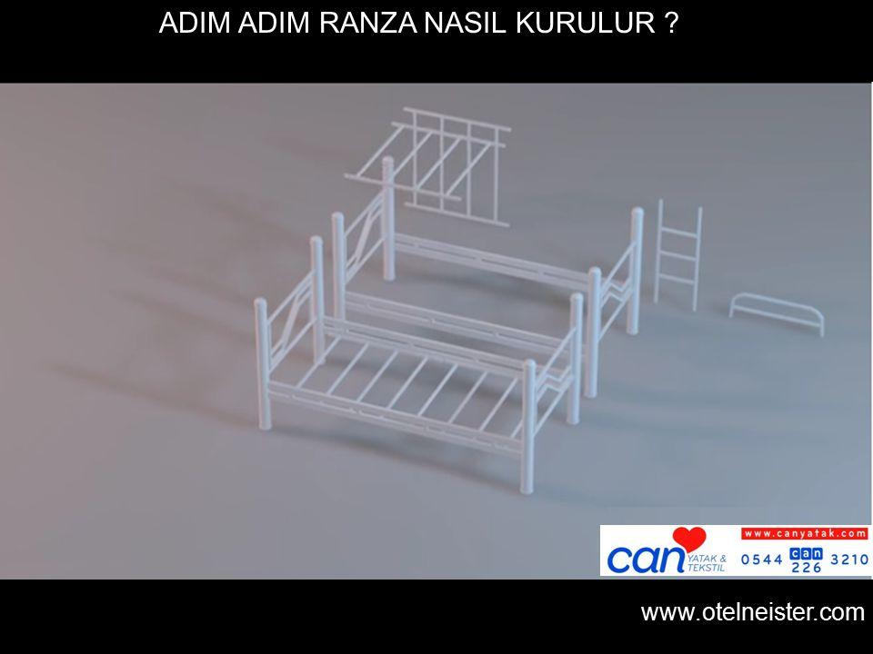www.otelneister.com ADIM ADIM RANZA NASIL KURULUR ?