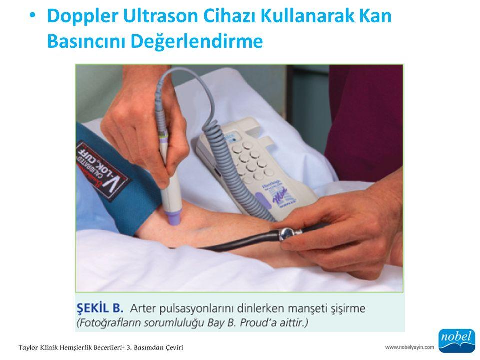 Doppler Ultrason Cihazı Kullanarak Kan Basıncını Değerlendirme
