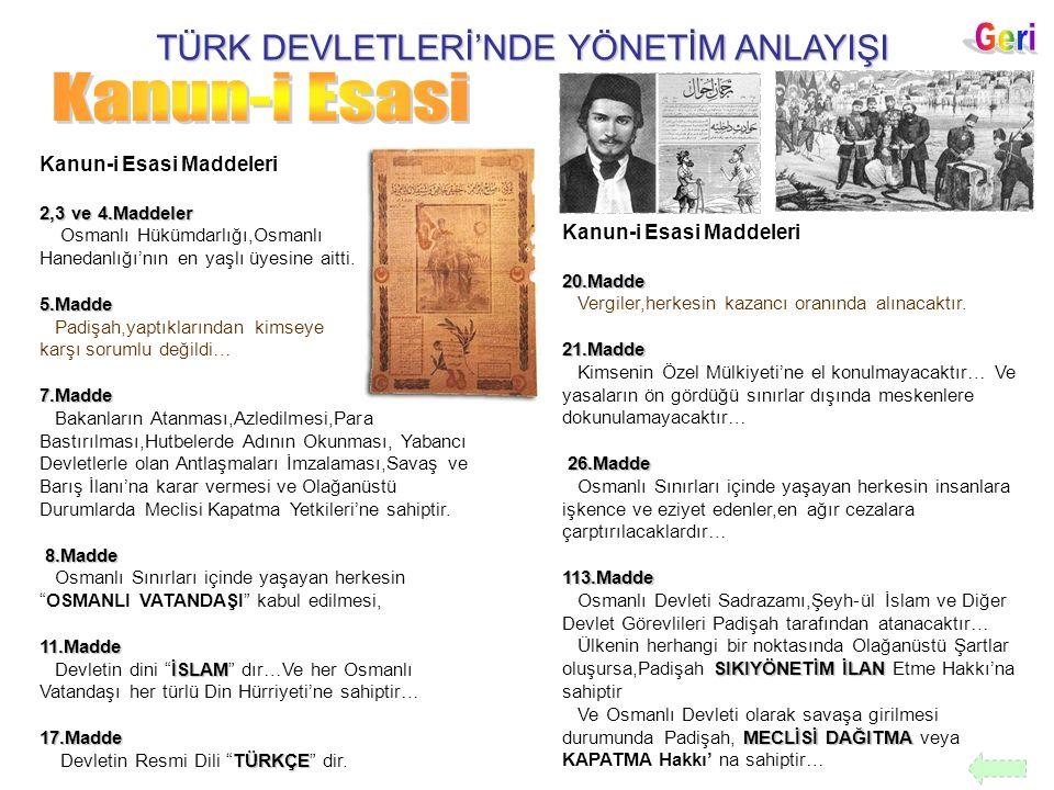 TÜRK DEVLETLERİ'NDE YÖNETİM ANLAYIŞI TÜRK MİLLETİ ** 19 Mayıs 1919 'da Milli Mücadele'yi başlatan Atatürk,İlk Genelgeyi Havza'da yayınlamış ve İşgallere karşı TÜRK MİLLETİ 'ni bilinçlendirmiştir.