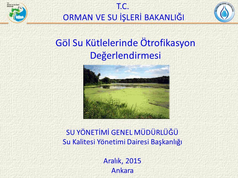 Sunum İçeriği  Türkiye'de Havza Bazında Hassas Alanların ve Su Kalitesi Hedeflerinin Belirlenmesi Projesi  Projenin Maksadı  Proje Sonuçları  Ötrofikasyon Parametreleri  Nihai Değerlendirme Tablosu
