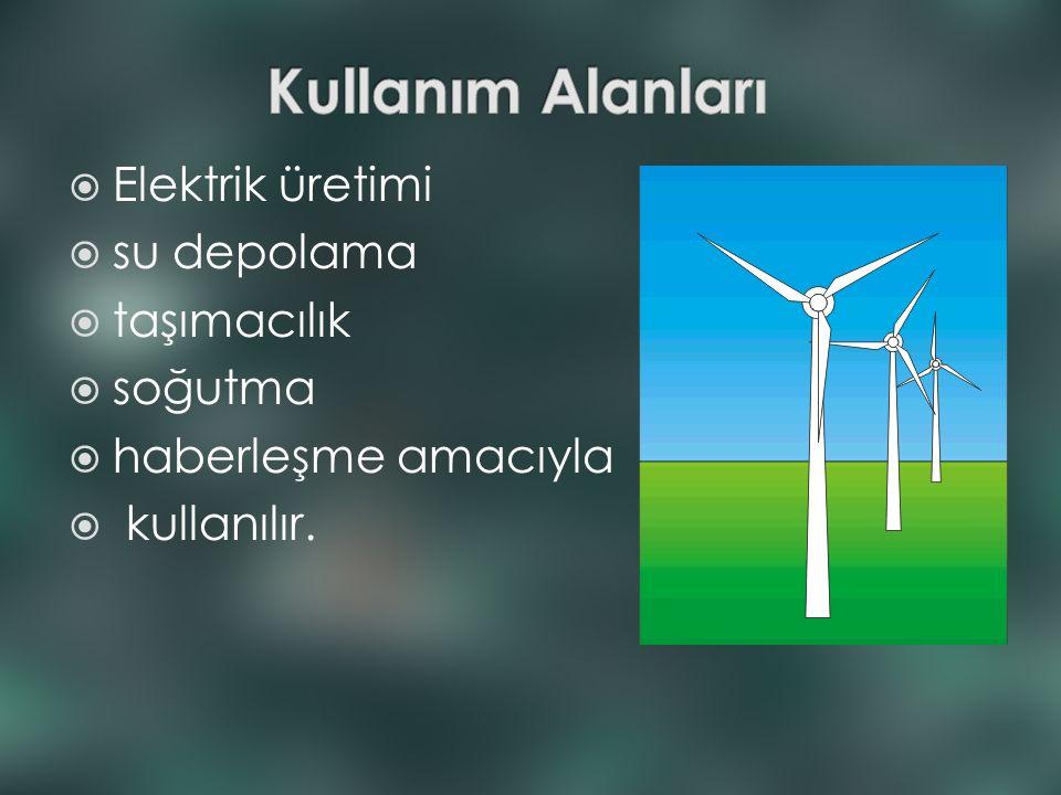  Avantajları: Temiz ve tükenmez bir enerji kaynağıdır.