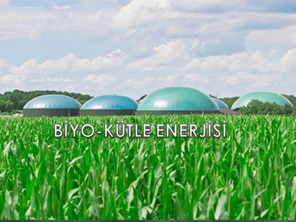  Biyo-kütle enerjisi, organik maddelerden enerji kaynağı olarak yararlanılmasıdır.Bilinen bitki yakma ve hayvan atıklarından yararlanma yöntemleri geleneksel biyo- kütle olarak adlandırılır.