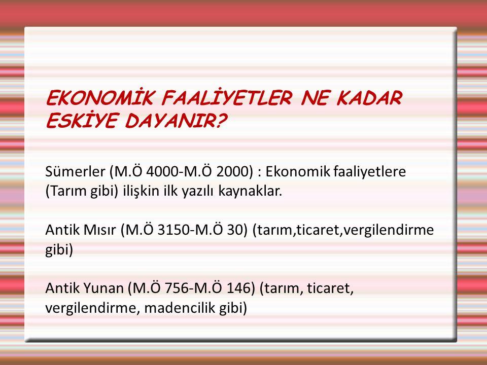 EKONOMİ BİLİMİNDEKİ ANA KAVRAMLAR 3.