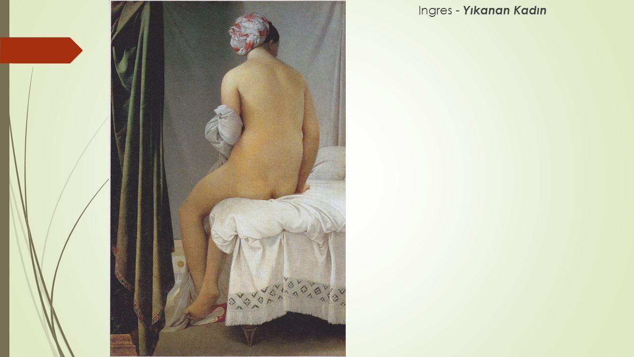 Ingres - Yıkanan Kadın