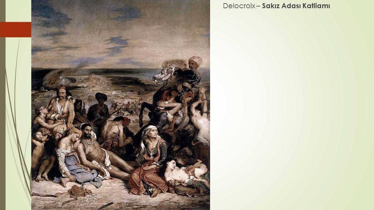 Delocroix – Sakız Adası Katliamı