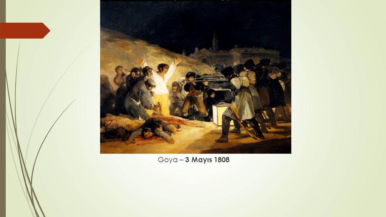 Goya – 3 Mayıs 1808