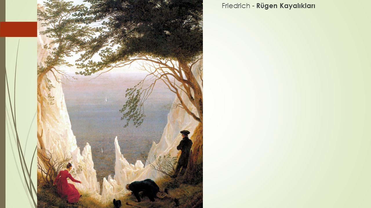Friedrich - Rügen Kayalıkları