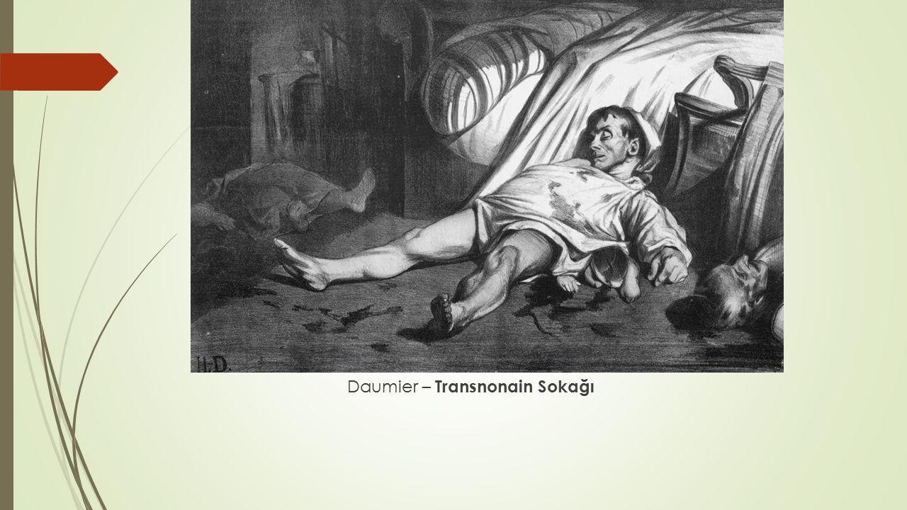 Daumier – Transnonain Sokağı