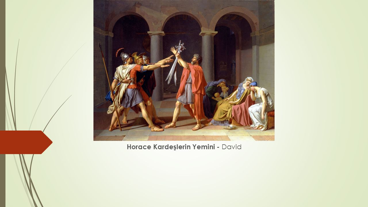 Horace Kardeşlerin Yemini - David