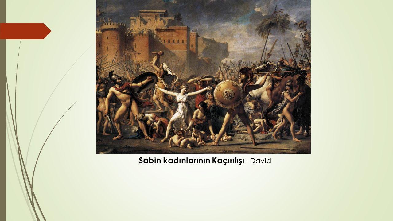 Sabin kadınlarının Kaçırılışı - David