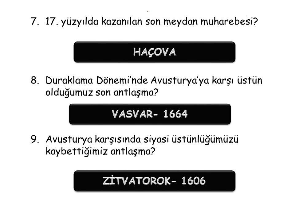 ..4.Buğünkü Türk İran sınırının çizildiği antlaşma.