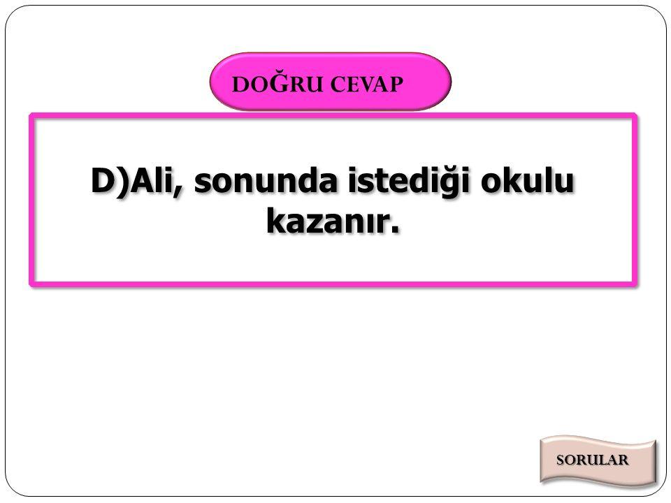 Süre Bitti 000102030405060708091011121314151617181920212223242526272829303132333435363738394041424344454647484950515253545556575859 SÜRE DO Ğ RU CEVAP 60 Aşağıdaki cümlelerin hangisinde anlam (zaman) kaymasına uğramış bir fiil kullanılmıştır.