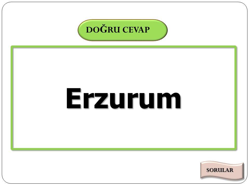 Süre Bitti 000102030405060708091011121314151617181920212223242526272829303132333435363738394041424344454647484950515253545556575859 SÜRE DO Ğ RU CEVAP 60 Cağ Kebabı ile ünlü olan ilimiz hangisidir.