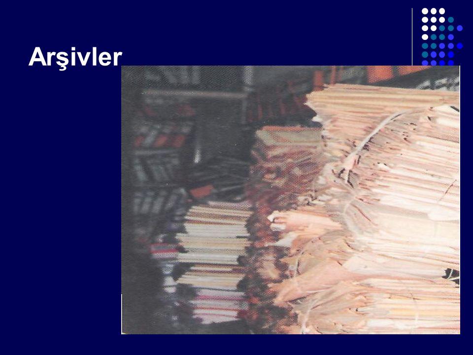 Sağlıklı ve bilimsel bir arşiv sisteminin kurularak işletilmesi sonucunda kurumsallaşma ile birlikte bilgi ve belgeye erişim de kolay sağlanır, düzen ve tertip oluşur: