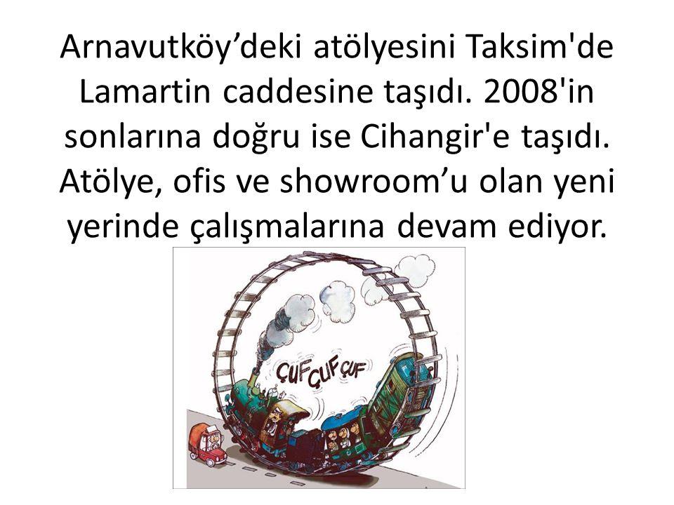 Arnavutköy'deki atölyesinde procelerin 3 boyutlularını üretmeye başladı. www.zihnisinir.com sitesini yayına açtı. Vizontele filminin baş karakterinin