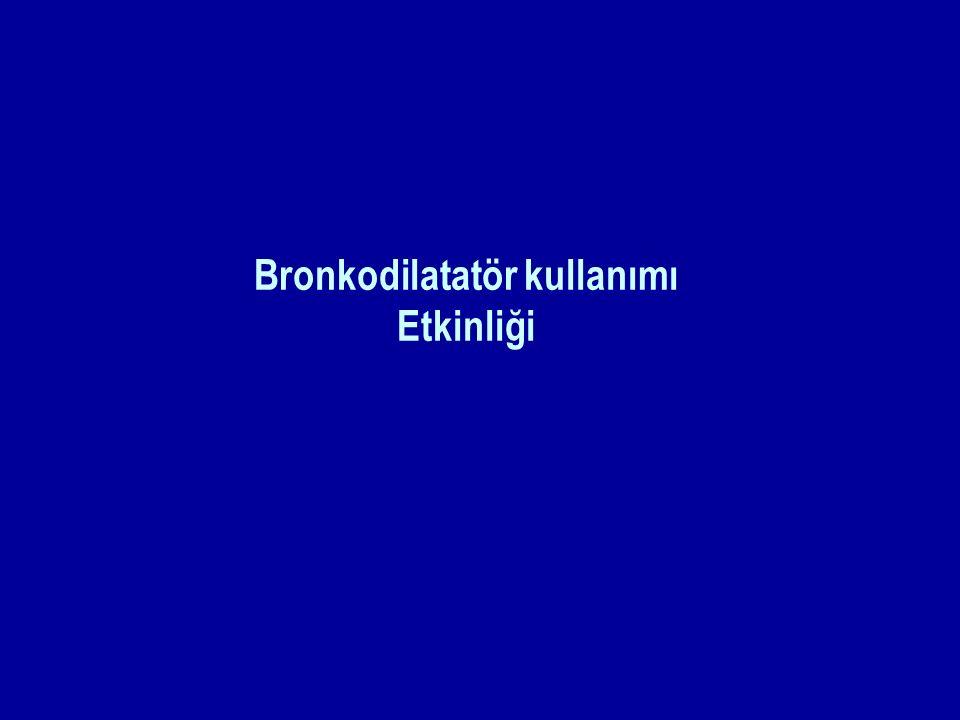 Bronkodilatatör kullanımı Etkinliği