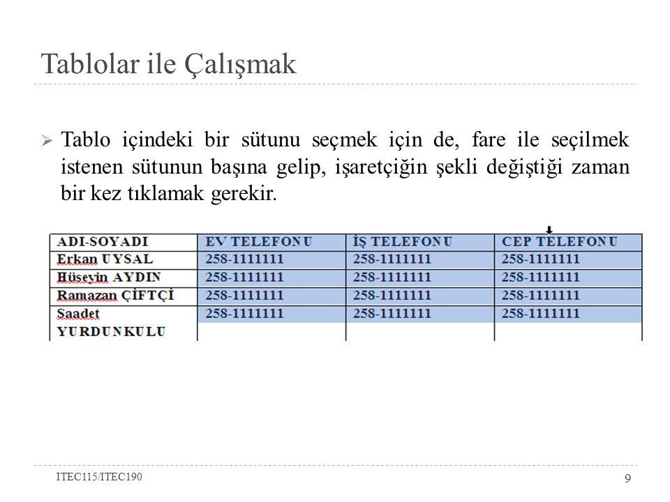 Sayfa Yapısı  Sayfanın boyutunu değiştirmek için Sayfa Yapısı (Page Layout) sekmesindeki Sayfa Boyutu (Size) düğmesi kullanılmaktadır.