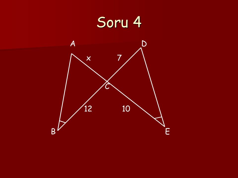 Soru 5 3 4 8 x=?