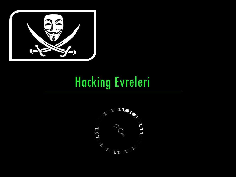 Hedef KurbanBilgi Toplama Sosyal Mühendislik Phising Veya Zararlı Yazılımlar Hacking