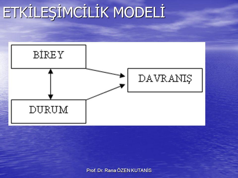 Prof. Dr. Rana ÖZEN KUTANİS ETKİLEŞİMCİLİK MODELİ