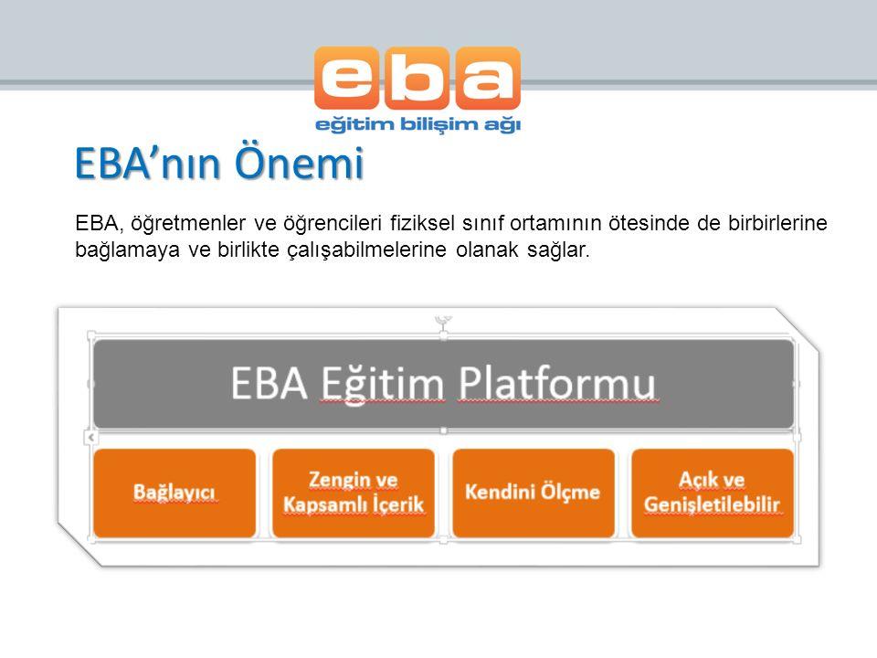 >>EBA Xerte Çevrimiçi İçerik Geliştirme Editörü EBA tarafından sunulan Xerte Çevrimiçi İçerik Geliştirme Editörü elektronik öğrenme materyalleri geliştirebileceğiniz bir editördür.