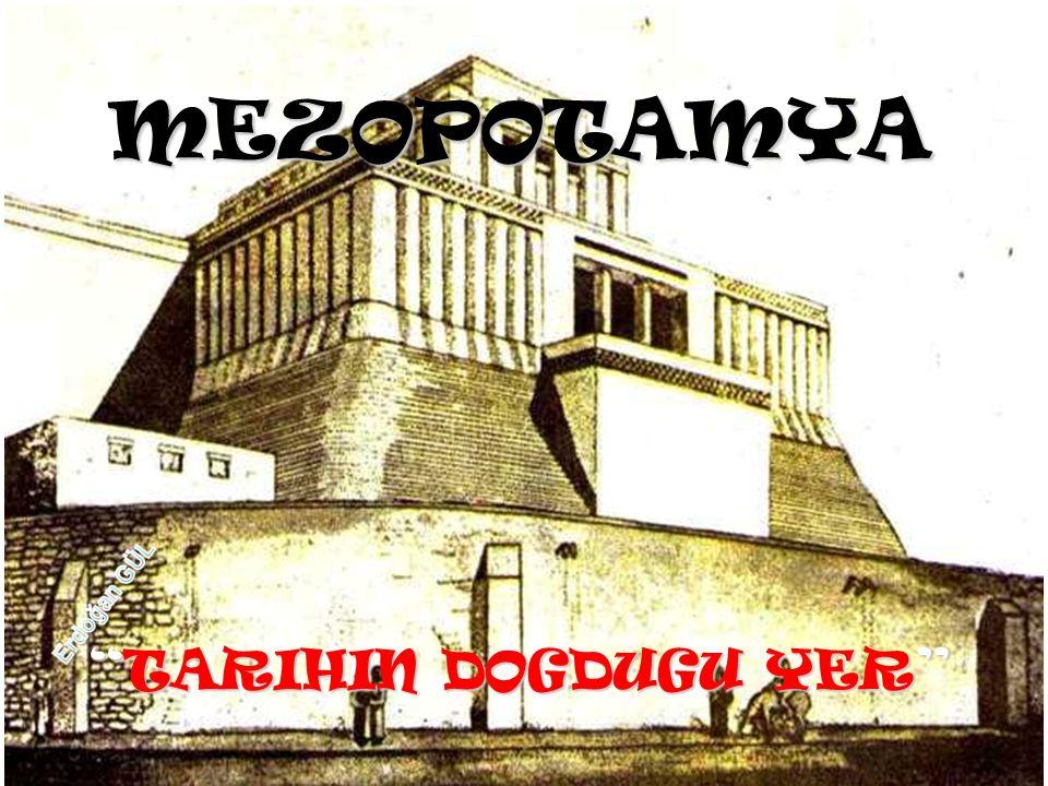 SÜMERLER ** SÜMERLER, Mezopotamya'da MÖ.3500-2000 Yılları arasında hüküm sürmüş bir devlettir.