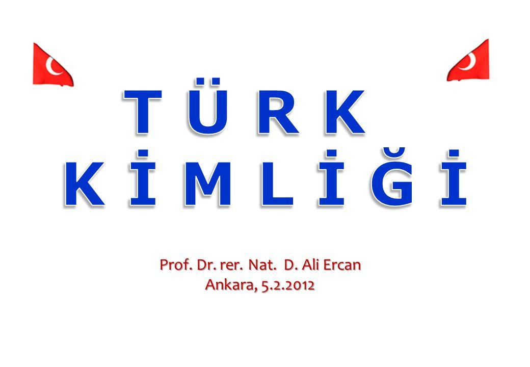 Prof. Dr. rer. Nat. D. Ali Ercan Ankara, 5.2.2012