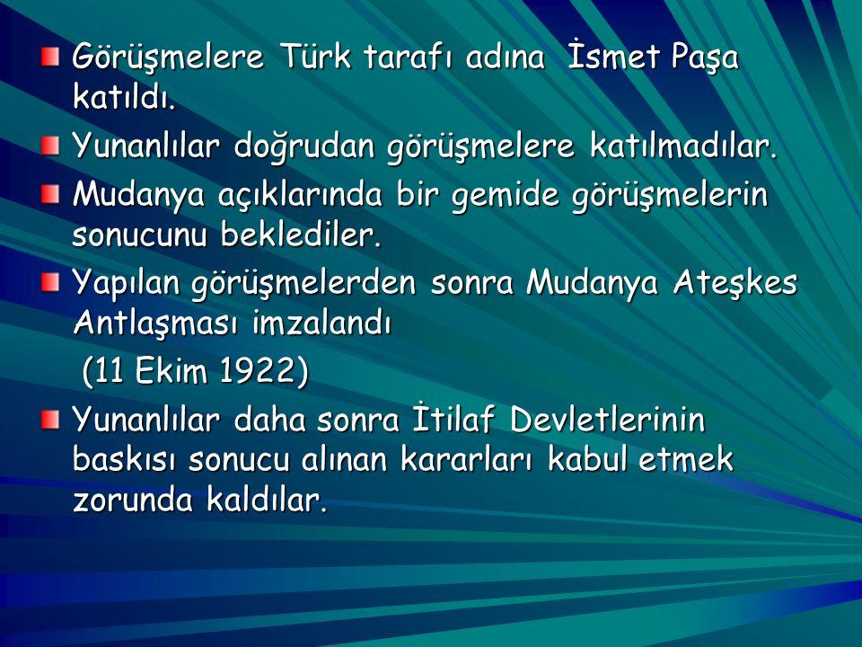 Batı Cephesi komutanı İsmet Paşa'nın orduyu Çanakkale istikametine taarruz emri vermesi İngilizleri telaşlandırdı. İngilizler müttefiklerinden destek