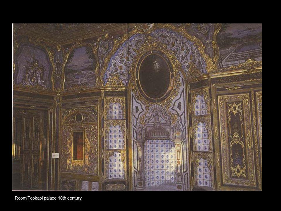 Room Topkapi palace 18th century