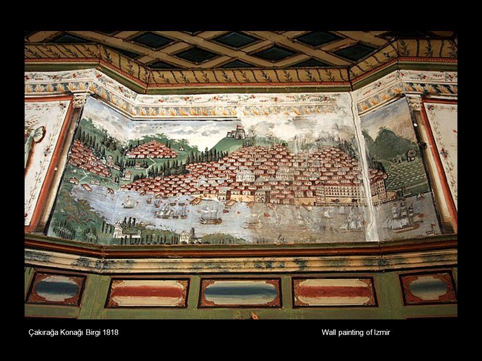 Wall painting of Izmir